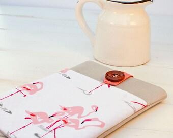 """13"""" Macbook Sleeve Macbook Pro Case Macbook Air Case 13"""" and 11"""" Macbook Sleeve Laptop Case Computer Sleeve Laptop Sleeve in Flirty Flamingo"""