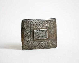 Vintage Handmade Persian Belt Buckle // Beautiful design & Patina