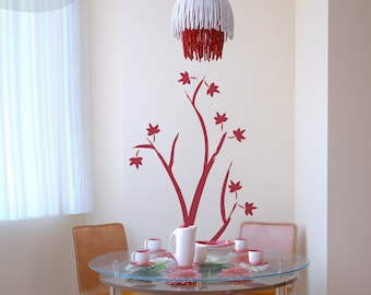 Red Maple - Vinyl Wall Decal