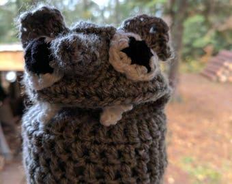 Marionnette à main «brady» en crochet