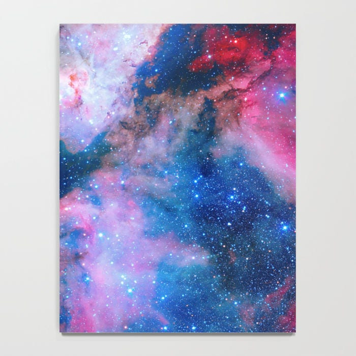 Rosa blau Galaxy Journal Sterne Journal Raum Journal blau