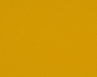 Mustard - 100% Pure New Wool Felt