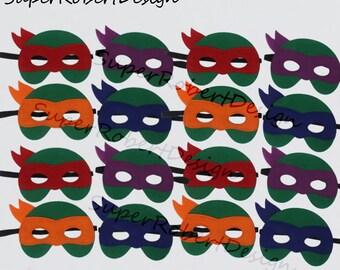 TMNT MASK Teenage Mutant Ninja Turtle Mask Leonardo Donatello Michelangelo Raphael TMNT Mask Turtle Costume Party Favor Birthday Gift