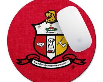Kappa Alpha Psi Round Mouse Pad