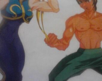 Chun-Li an Fei-Long Fan Promo