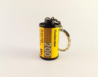 35mm Film Canister Keyring - Kodacolor