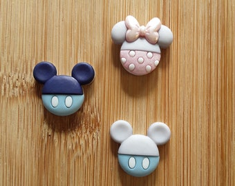 Baby Mickey and Minnie Mouse Needle Minders (Set of 3)