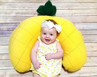 Pineapple Nursing Pillow Cover - Tropical Boppy Cover