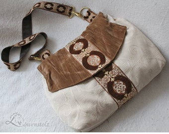 Shoulder bag in vintage look