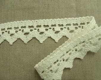 lace white-4.5 cm - cotton