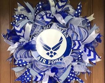 Air Force Military Wreath