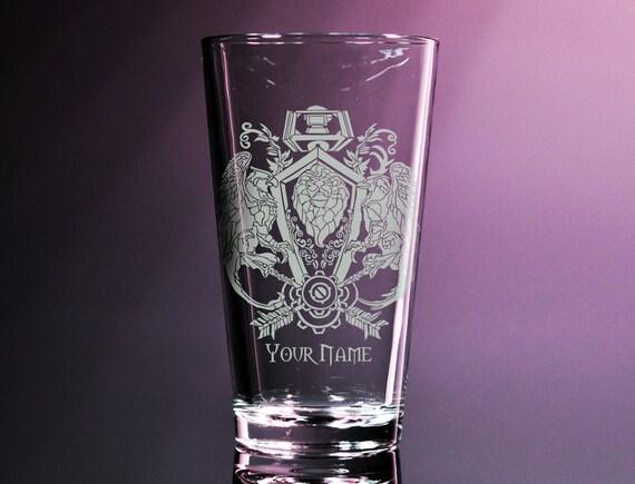 World Of Warcraft Drinking Glass
