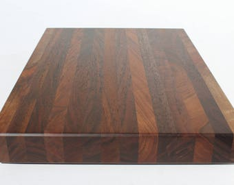 "Black Walnut cutting board 10.5""x 14"" Walnut cutting board, Black walnut edge grain cutting board Item #209"