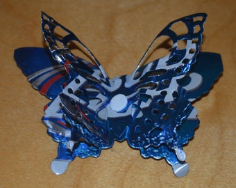 Sale - Recycled Butterfly Magnets Aluminum Can - Upcycled – Bud Light, Dos XX and other varieties available. UNIQUE! Gift Ideas