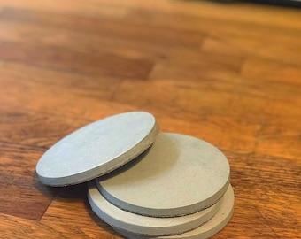 Set of 4 Concrete Coasters