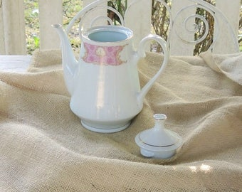 Red Sea Remington Spring Grove Lidded Tea or Coffee Pot Sweet Sixteen Tea Party Plates Wedding