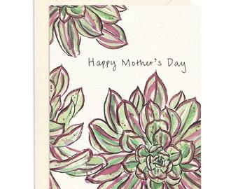 Succulent Mom Card