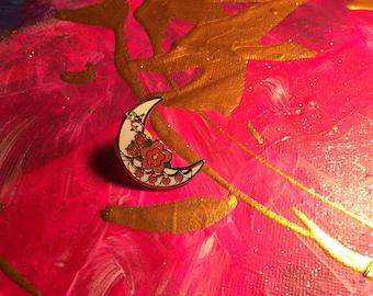 Moonlight magic pin
