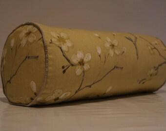 yellow Flower bolster cover