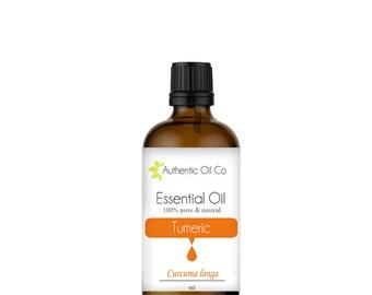 Turmeric Essential oil 100% Pure 10ml 50ml 100ml