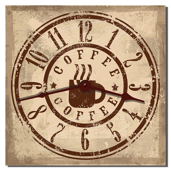 Coffee Shop Decorative Kitchen Wall Clock
