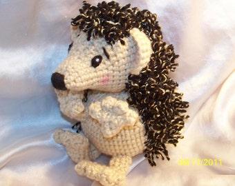 Herbert the Crochet Hedgehog