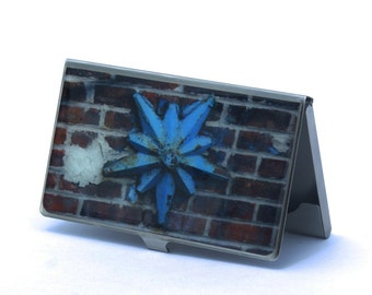 CARD CASE - Domino  Star Card Case - Domino Factory Building - Domino Sugar Factory - Business Card - Holder