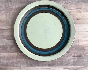 SALE - Vintage Otagiri Horizon Stoneware Dinner Plate