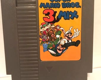 Super Mario Bros 3Mix nes fan made cartridge hack