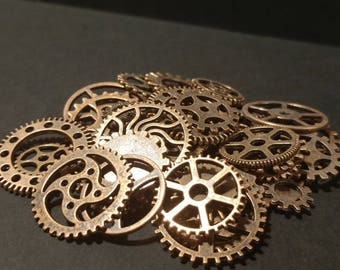 Copper Gears & Cogs