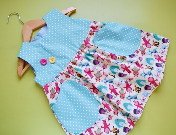 Yummy Baby Girl Dress Sewing Pattern Pdf Overall Jumper Pinafore