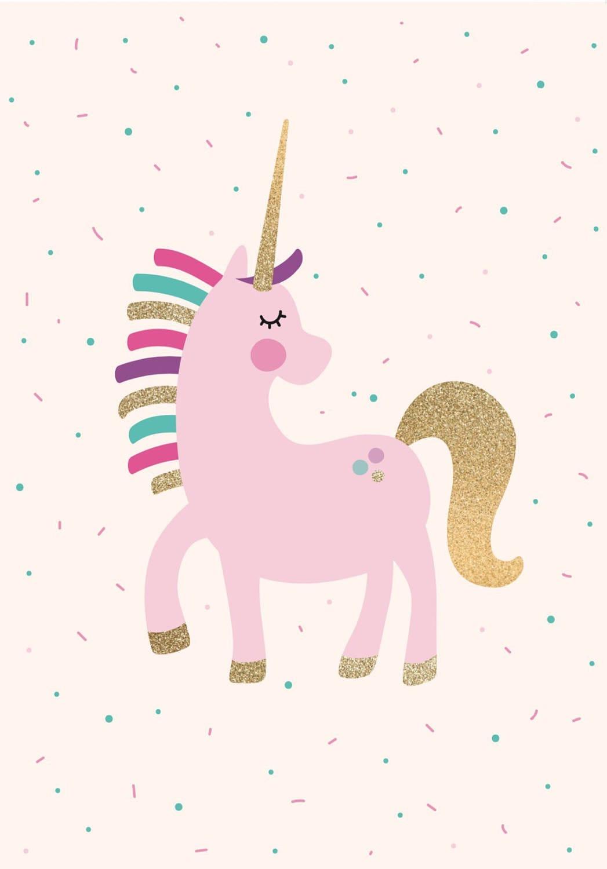 A4 Unicorn Poster Unicorn Print