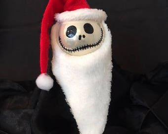 Santa Skeleton Ornament **On Sale**