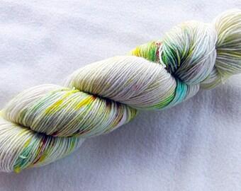 Handdyed SockYarn, 75 Wool, 25 Polyamid 100g 3.5 oz. Nr. 518