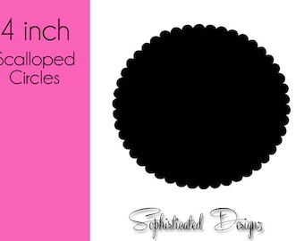 Scalloped Circle Die Cuts