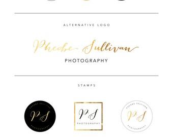 Mini branding package | Logo design | Photography logo | Pre-designed branding