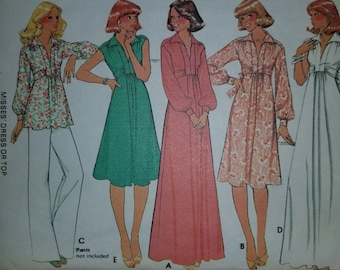 McCall's 5490, size 8, Vintage pattern 1977