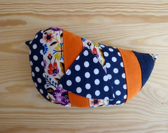 Stuffed bird plush Luis/Bird fabric
