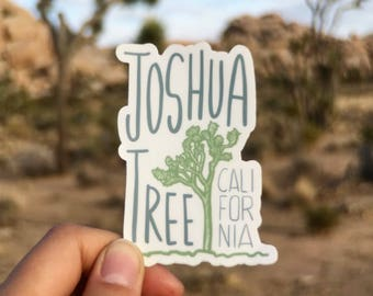 Joshua Tree Vinyl Sticker