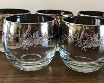 Set of 5 Roly Poly Silver Hombre Fade Glasses