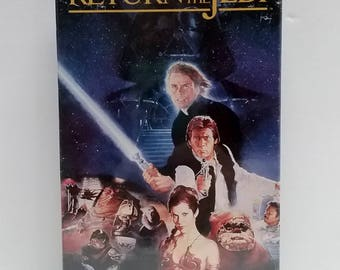 VHS Video- Star Wars Return of the Jedi, SEALED