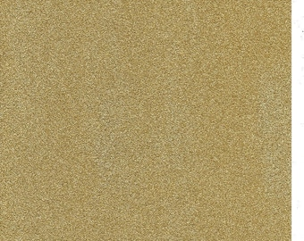 Gold Glitter Card A4 soft touch low shed 1 sheet