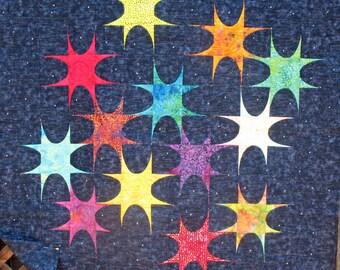 Ellipse Stars Wallhanging