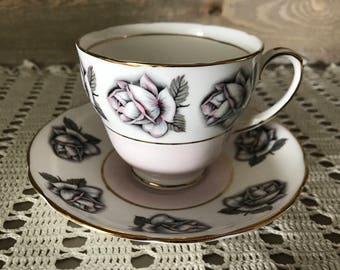 Vintage Duchess Bone China Tea Cup and Saucer