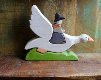 Old Mother Goose Wooden Puzzle