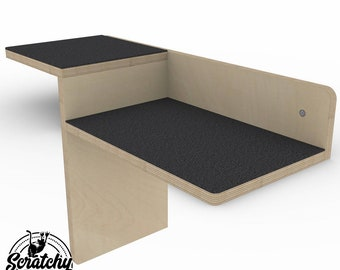 Wally Combo , Cat Shelf, Cat Stairs, Cat Step, Cat Perch, Wall