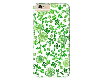 Green Vines Phone Case | iPhone X, iPhone 8, iPhone 8 Plus, iPhone 7, iPhone 7 Plus, iPhone 6s Plus, iPhone 6, iPhone 5, iPod Touch