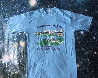 Vintage Andrews Air Force Base Home of Air Force One Soft T-Shirt