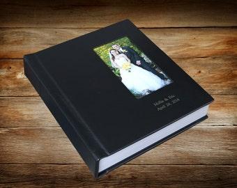 Wedding Album-Custom Flush Mount Genuine Leather Album 8 X 8