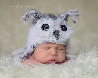 Star Wars Ewok Hat Newborn 0 3m Fuzzy Brown Baby Crochet Photo